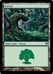 Magic: The Gathering Duel Decks: Heroes vs. Monsters Single Card Land Land #78 Forest