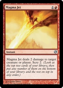 Magic: The Gathering Duel Decks: Heroes vs. Monsters Single Card Red Uncommon #22 Magma Jet
