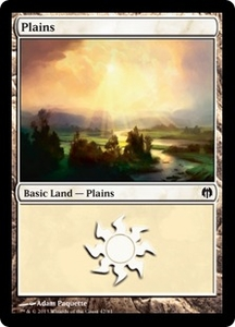 Magic: The Gathering Duel Decks: Heroes vs. Monsters Single Card Land Land #39 Plains