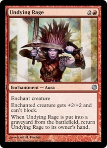 Magic: The Gathering Duel Decks: Heroes vs. Monsters Single Card Red Uncommon #26 Undying Rage