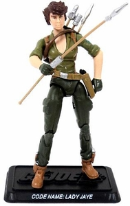 GI Joe 3 3/4 Inch LOOSE Action Figure Lady Jaye [Version 7]