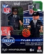 OYO Football NFL Draft First Round Picks Building Brick Minifigure Tyler Eifert [Cincinnati Bengals] #21 Draft Pick