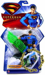 Superman Returns Movie Basic Action Figure Kryptonite Smash Superman