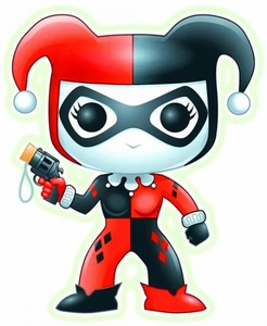 Funko Pop! DC Universe Heroes PX Previews Exclusive Vinyl Figure Harley Quinn [Glow in the Dark] Pre-Order ships August
