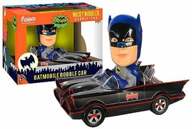 Funko Batman 1966 Wacky Wobbler Bobble Head Batmobile Pre-Order ships March