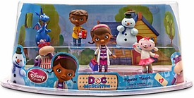 Disney Doc McStuffins Exclusive 6-Piece PVC Figurine Playset [Doc Mcstuffins, Lambie, Stuffy, Hallie, Chilly & Donny McStuffins]