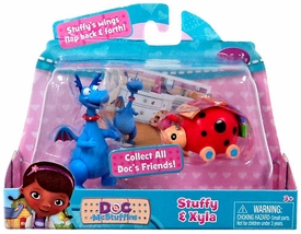 Disney Doc McStuffins Action Figure 2-Pack Stuffy & Xyla