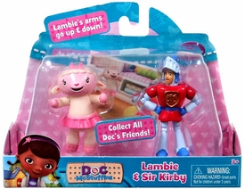 Disney Doc McStuffins Action Figure 2-Pack Lambie & Sir Kirby