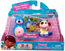 Disney Doc McStuffins Action Figure 2-Pack Boppy & Moo Moo