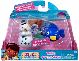 Disney Doc McStuffins Action Figure 2-Pack Chilly & Squeakers