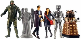 Doctor Who 3 3/4  Wave 1 Action Figure set Pre-Order ships March