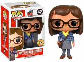 Funko POP! Big Bang Theory 2013 SDCC San Diego Comic-Con Exclusive Vinyl Figure Amy Farrah Fowler