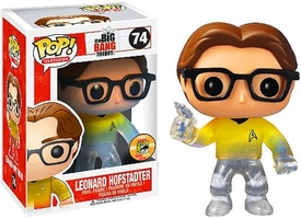 Funko POP! Big Bang Theory 2013 SDCC San Diego Comic-Con Exclusive Vinyl Figure Leonard Hofstadter [Star Trek]