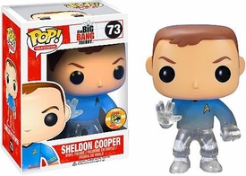 Funko POP! Big Bang Theory 2013 SDCC San Diego Comic-Con Exclusive Vinyl Figure Sheldon Cooper [Star Trek]