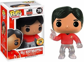 Funko POP! Big Bang Theory 2013 SDCC San Diego Comic-Con Exclusive Vinyl Figure Raj Koothrappali [Star Trek]