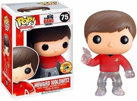 Funko POP! Big Bang Theory 2013 SDCC San Diego Comic-Con Exclusive Vinyl Figure Howard Wolowitz [Star Trek]