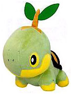 Pokemon Jakks Pacific Mini Plush Turtwig