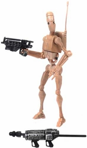 Star Wars 2008 Clone Wars Animated LOOSE Action Figure No. 7 Battle Droid
