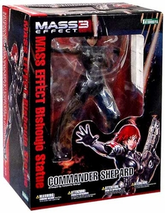 Mass Effect Kotobukiya Bishoujo 1/7 Scale Statue Commander Shepard {Red Hair} [Female Version]