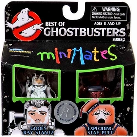 Ghostbusters Exclusive Best of Minimates Mini Figure 2-Pack Gooey Ray Stantz & Exploding Stay Puft