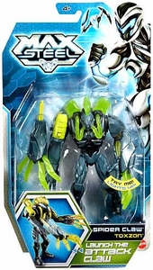 Max Steel 6 Inch Action Figure Spider Claw Toxzon