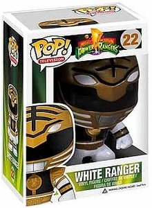 Funko POP! 2013 SDCC Comic-Con Exclusive Mighty Morphin Power Rangers Vinyl Figure White Ranger [Glow-in-the-Dark]