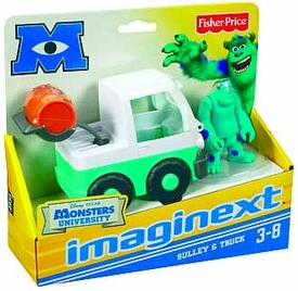 Disney / Pixar Monsters University Imaginext Figure & Vehicle 2-Pack Sulley & Truck