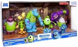 Disney / Pixar Monsters University Exclusive Figure 6-Pack Frat Pack [Oozma Kappa Students]