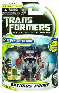 Transformers 3: Dark of the Moon Cyberverse Commander Action Figure Optimus Prime