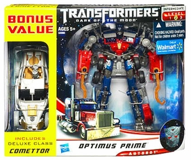 Transformers 3: Dark of the Moon Exclusive Action Figure 2-Pack Voyager Optimus Prime with Deluxe Comettor