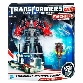 Transformers 3: Dark of the Moon Voyager Action Figure Fireburst Optimus Prime