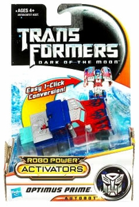 Transformers 3: Dark of the Moon Robo Power Activators Action Figure Optimus Prime