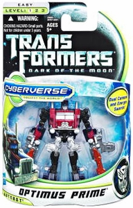 Transformers 3: Dark of the Moon Cyberverse Commander Action Figure Battle Steel Optimus Prime