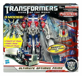 Transformers 3: Dark of the Moon Leader Mechtech Action Figure ULTIMATE Optimus Prime