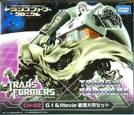 Transformers Takara Chronicle CH-02 G1 & Movie Megatron