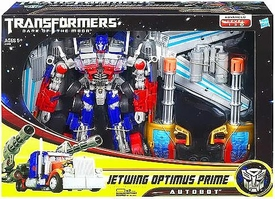 Transformers 3: Dark of the Moon Leader Action Figure Jetwing Optimus Prime