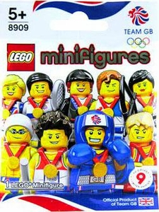 LEGO Minifigure Olympic Great Britain Team Mystery Pack [1 Random Mini Figure!]