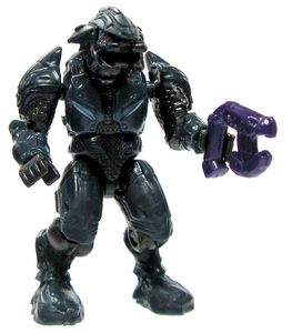 Halo Wars Mega Bloks LOOSE Mini Figure Covenant Blue Elite with Plasma Pistol [Version 2]