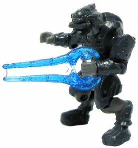 Halo Wars Mega Bloks LOOSE Mini Figure Covenant Dark Blue Elite with Energy Sword