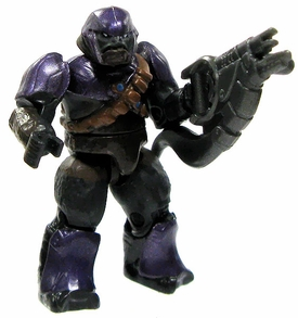 Halo Wars Mega Bloks LOOSE Mini Figure Covenant Purple Brute with Brute Shot