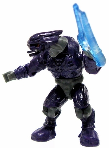 Halo Wars Mega Bloks LOOSE Mini Figure Covenant Purple Elite with Energy Sword