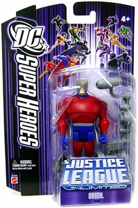 DC Super Heroes Justice League Unlimited Action Figure Orion [Purple Card]