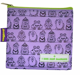 Lunch & Snack Bags: Purple