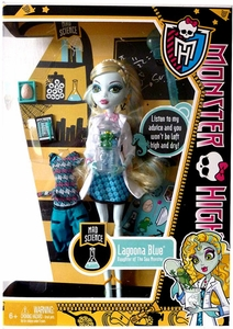 Monster High Classroom DELUXE Doll Mad Science Lagoona Blue [Without Locker]