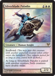 Magic the Gathering Other Promo Card Silverblade Paladin [Buy-a-Box Promo]