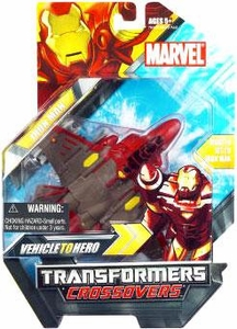 Marvel Transformers Crossovers Hybrid Action Figure Iron Man