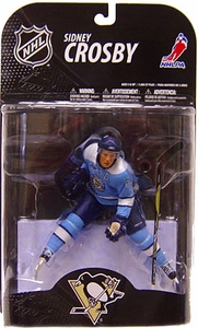 McFarlane Toys NHL Sports Picks Series 21 [2009 Wave 1] Action Figure Sidney Crosby (Pittsburgh Penguins) Powder Blue Jersey
