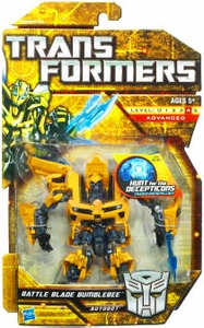 Transformers: Hunt for the Decepticons Deluxe Action Figure Battle Blade Bumblebee