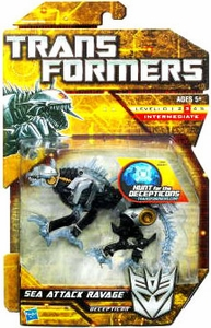 Transformers: Hunt for the Decepticons Deluxe Action Figure Sea Attack Ravage