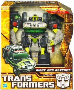 Transformers: Hunt for the Decepticons Voyager Action Figure Night Ops Ratchet